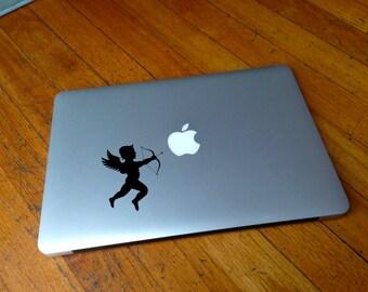 Macbook Decal angel cupid decal Macbook Stickers music laptop decal iPad decals for macbook 014
