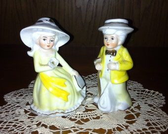 Vintage Southern Bell Couple