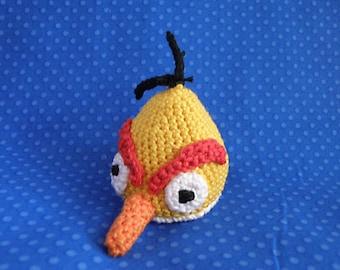 Yellow Angry Bird amigurumi