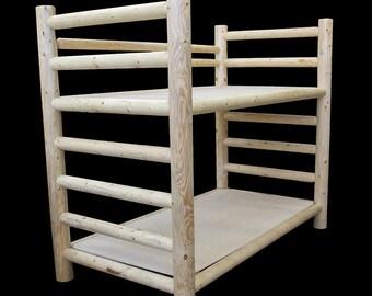 Log Pioneer Bunk Bed