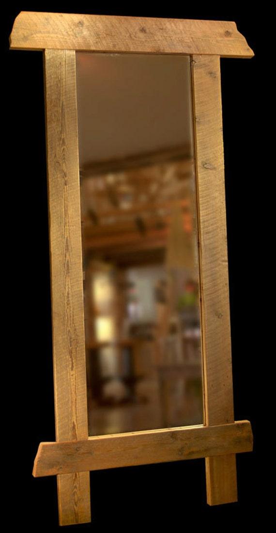 Custom Reclaimed Wood Frames Mirrors