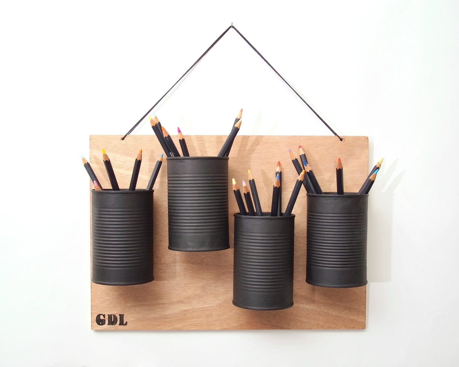 Sale 25 off quatro hanging pencil holder Diy pencil holder for desk