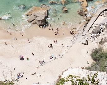 Portugal beach (Nazaré),People.Europe Photographs. Landscape.