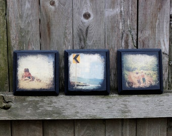 custom photo transfer on wood, personalized with your own image