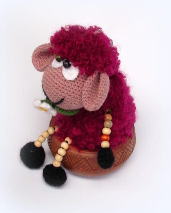 Amigurumi Sheep Doll : Items similar to Crocheted toy, Crochet sheep doll, Sheep ...