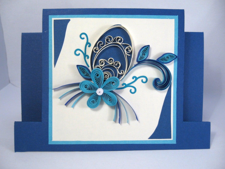 Easter Card Paper Handmade Greeting Card Quilling Easter – Easter Cards Handmade