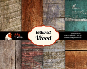 Wood Digital Paper rustic woodgrain background photography backdrop country rustic wedding country cottage Instant Download 8008