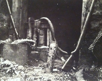 WWI RPPC 1919 L.A. Couch- Picture of Artillery