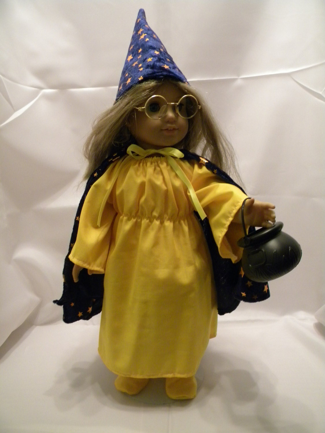 Wizard Costume - Fits 18 American Girl Doll and all other 18 Dolls