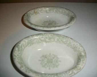 Set of 2 J & C Meakin Oval Bowls