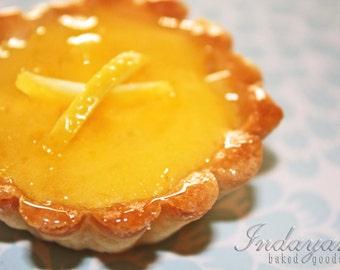 "Lemon Pie, Lemon Curd Tarts - 1 dozen of 3"" mini pies"