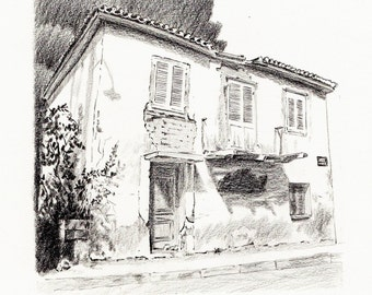 Abandon House in Galaxidi, Greece