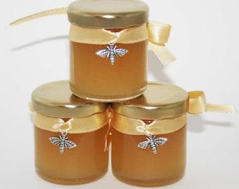 Pure Honey Wedding Favour / Golden Wedding / Anniversary Favour / Honey Gift / Honey Bee