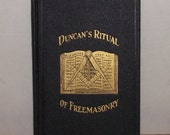 Duncans Masonic Ritual and Monitor circa 1927