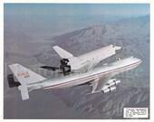 Space Shuttle Enterprise First Free Flight Photos
