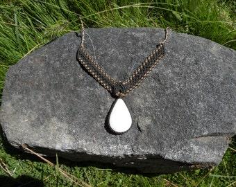 Peruvian Macrame Quartz Necklace