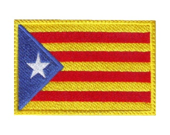 Catalunya Estelada Flag Embroidered Patch