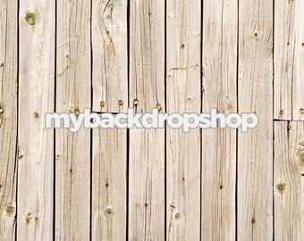 2ft x 2ft Photography Backdrop - Washed White Panel Wood Background for Photographers - Wood Fence Backdrop - Item 158