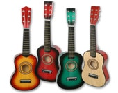 "Guitar for Children 23"" Musical Instrument Made of Quality Wood"