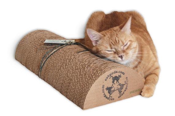 Xl kitty speed bump 18 eco friendly trendy cardboard - Cat bed scratcher ...