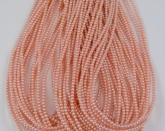 2mm Czech Glass Pearl - 70426 Pink x 300pcs