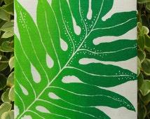 Hawaiian Laua'e Fern Kitchen Towel