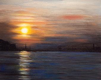 Venice Sunset - 11 x 14 (Print)