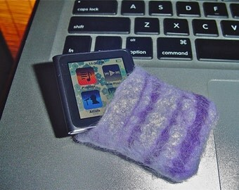 felted wool ipod case