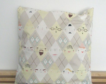 pillow cover rhombus