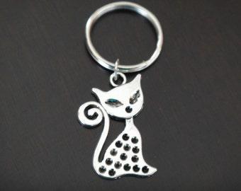 Pretty Kitty Key Chain