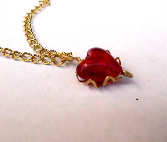 Zelda Heart Container Necklace: Unavailable Listing On Etsy