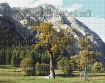 "Cross Stitch Chart ""Alpen 1"""