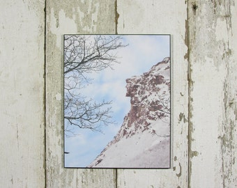 8 X 10 Old Man of the Mountain New Hampshire Laminated Plaque