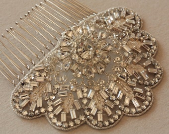 Bridal Hair Comb - Jaz (Made to Order)