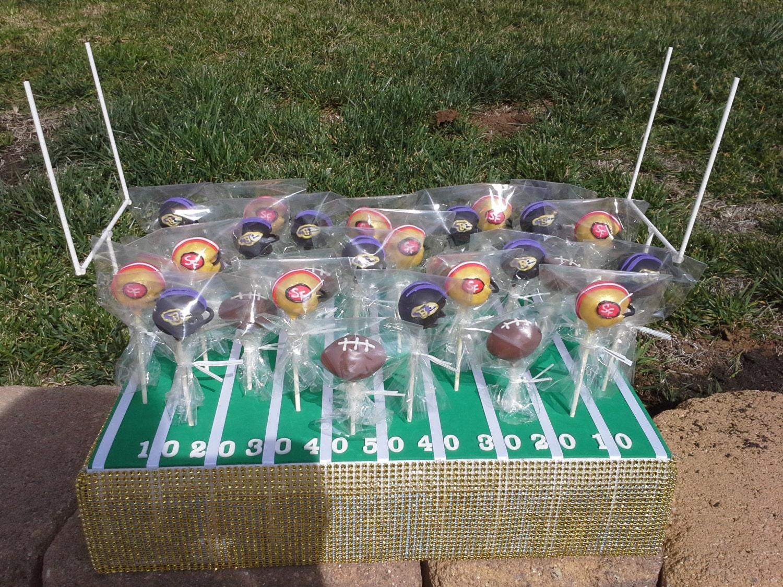 Seahawks Cake Pops Football Field Cake Pop Stand