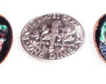 ancient soldiers enamel on metal itaglios