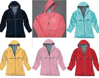 Monogrammed Raincoat
