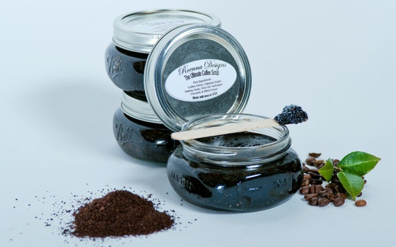 Coffee Face & Body Scrub  - All In One