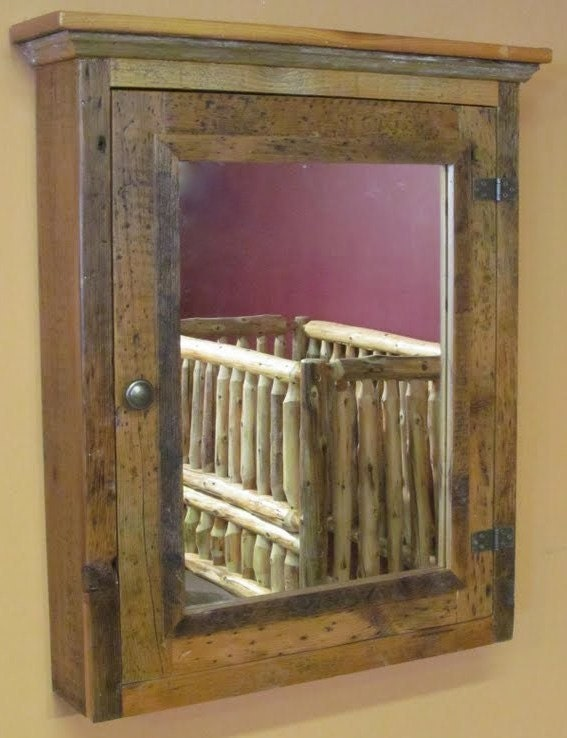 Barnwood Medicine Cabinet
