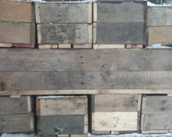 """6""""x6""""x24"""" - Recycle Pallet Planters"""