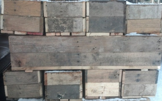 "6""x6""x36"" - Recycle Pallet Planters"