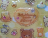 20% OFF Rilakkuma Meets Honey II San-X Stickers