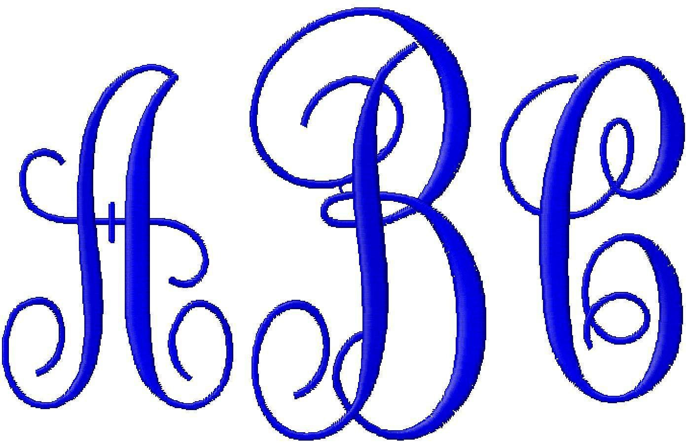 Fancy Monogram KK Machine Embroidery Fonts 1031