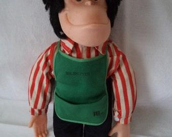 Vintage PG Tips 1980 Mr Shifter Doll