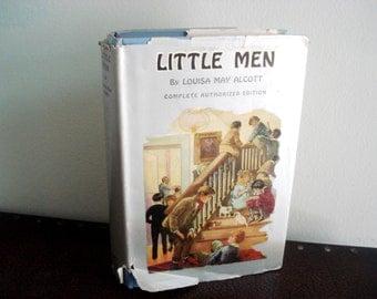 Little Men By Louisa May Alcott - Vintage Book