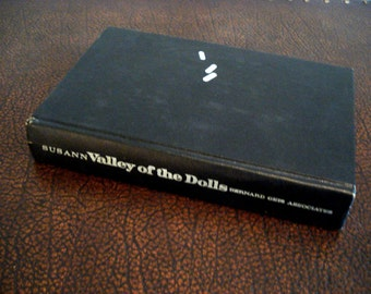 Valley Of The Dolls by Jacqueline Susann - Vintage Book - First Edition