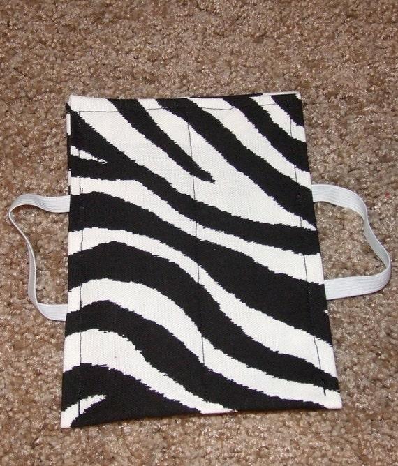 Lock Smock- Zebra