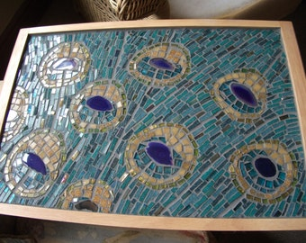 Mosaic Breakfast Tray or Laptop Tray