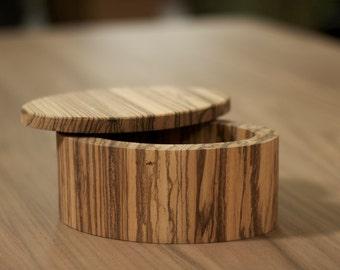 Zebrawood Jewelry Box