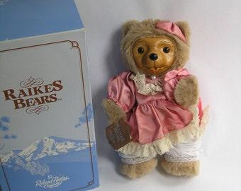 Robert RAIKES BEARS Robert Raikes Penelope MIB 1986 Tax Deductible